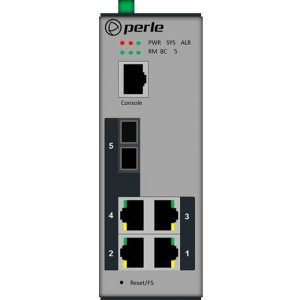 Perle 07012360 IDS-305F - Managed Industrial Ethernet Switch with Fiber