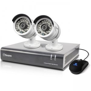 Swann SWDVK-446002-US DVR4-4600 - 4 Channel 1080p Digital Video Recorder & 2 x PRO-A855 Cameras