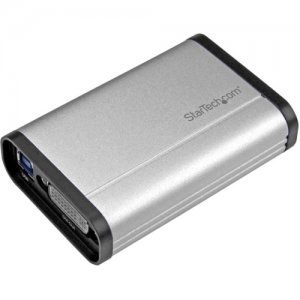 StarTech.com USB32DVCAPRO USB 3.0 Capture Device for High Performance DVI Video - 1080p 60fps - Aluminum