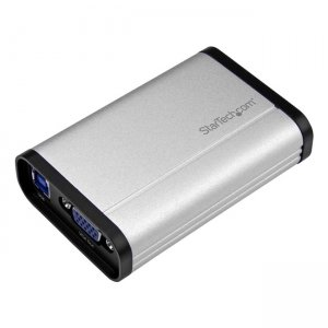 StarTech.com USB32VGCAPRO USB 3.0 Capture Device for High Performance VGA Video - 1080p 60fps - Aluminum