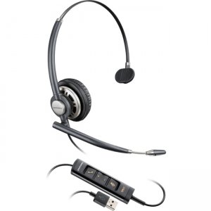 Plantronics 203476-01 Corded Headset with USB Connection