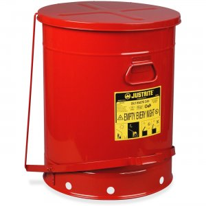 JUSTRITE 09700 21-Gallon Oily Waste Can JUS09700