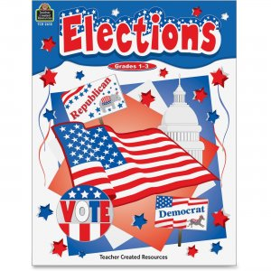 Teacher Created Resources 2618 Grades 1-3 US Elections Book TCR2618