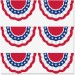Teacher Created Resources 5895 Patriotic Bunting Accents TCR5895