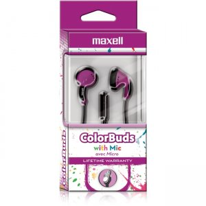 Maxell 199709 Color Buds Earset