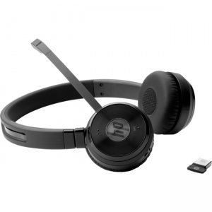 HP W3K09UT#ABA UC Wireless Duo Headset(W3K09UT)