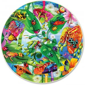 A Broader View 372 Creepy Critters 500-pc Round Puzzle ABW372