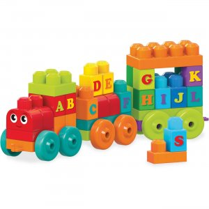 Mega Bloks DXH35 ABC Learning Train Play Set MBLDXH35