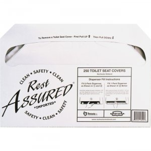 Impact Products 25183273 Rest Assured Half Fold Toilet Seat Covers IMP25183273