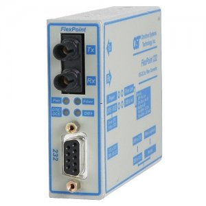 Omnitron Systems 4489-11 FlexPoint 232 Baud Rate Autosensing RS-232 to Fiber Media Converter