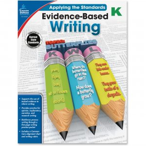 Carson-Dellosa 104823 Grade K Evidence-Based Writing Workbook CDP104823