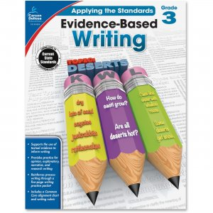 Carson-Dellosa 104826 Grade 3 Evidence-Based Writing Workbook CDP104826