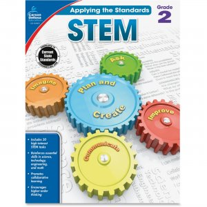 Carson-Dellosa 104853 Grade 2 Applying the Standards STEM Workbook CDP104853