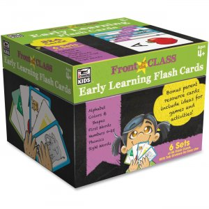 Carson-Dellosa 734062 Early Learning Flash Cards CDP734062