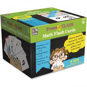 Carson-Dellosa 734063 Grades PreK-3 Math Flash Cards CDP734063