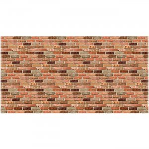 Fadeless 57465 Reclaimed Brick Design Fadeless Paper PAC57465