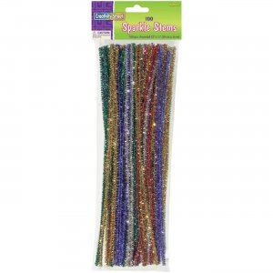 Creativity Street AC711601 Bendable Sparkle Stems PACAC711601