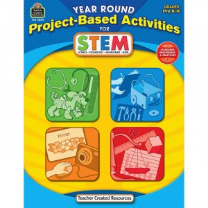 Teacher Created Resources 3024 Year Round Project-Based Activities for STEM PreK-K TCR3024