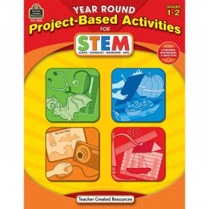 Teacher Created Resources 3025 Year Round Project-Based Activities for STEM Grade 1-2 TCR3025