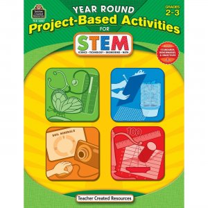 Teacher Created Resources 3027 Year Round Project-Based Activities for STEM Grade 2-3 TCR3027