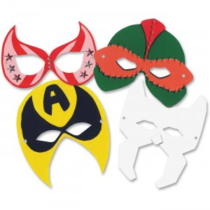 Roylco R52097 Super Hero Masks (2014) RYLR52097