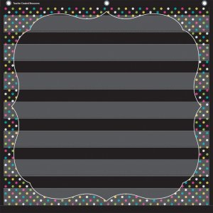 Teacher Created Resources 20742 Chalkboard Brights 7 Pocket Chart TCR20742