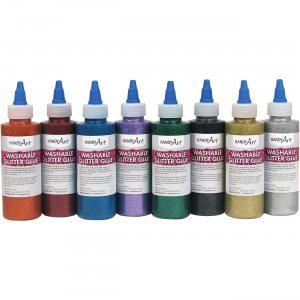 Handy Art 887144 Washable Glitter Glue HAN887144