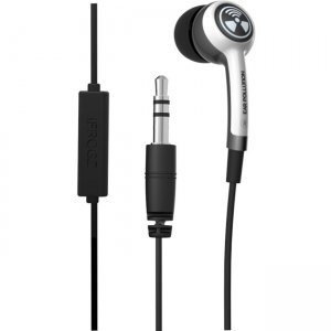 ifrogz IFPLGM-WH0 Plugz w/Mic Ultimate Earbuds with Mic