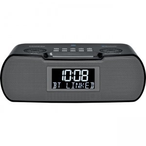 Sangean RCR-20 FM-RDS (RBDS) / AM / Bluetooth /Aux-in / USB Charging Digital Tuning Clock Radio