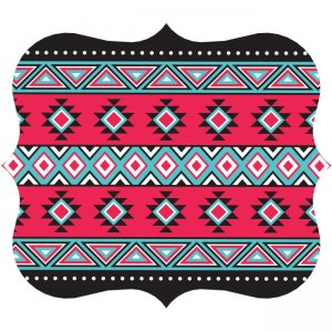 Fellowes 5919101 Designer Mouse Pad - Tribal Print