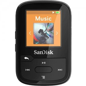 SanDisk SDMX28-016G-A46B Clip Sport Plus 16GB Flash MP3 Player
