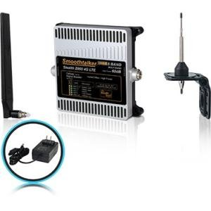 Smoothtalker BBUZ660GBO Stealth Z660dB 4G LTE High Power 6 Band Cellular Signal Booster Kit