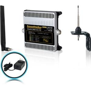 Smoothtalker BBUZ665GBO Stealth Z665dB 4G LTE High Power 6 Band Cellular Signal Booster Kit