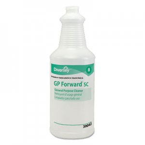 Diversey DVOD939042A GP Forward Super Concentrated General Purpose Cleaner Capped Bottle, 32oz,12/CT