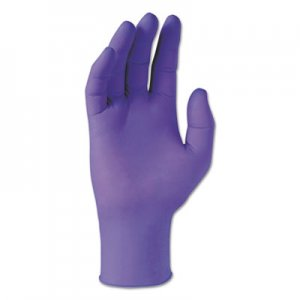Kimberly-Clark KCC55080CT PURPLE NITRILE Gloves, Purple, 242 mm Length, X-Small, 6 mil, 1000/Carton