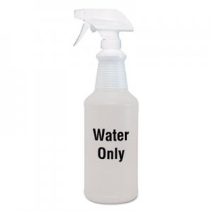 Diversey DVOD4968908 Water Only Spray Bottle, Clear, 32 oz, 12/Carton