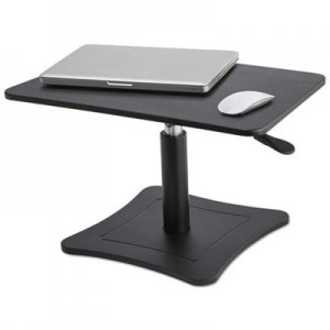 Victor VCTDC230B High Rise Adjustable Laptop Stand, 21 x 13 x 12 to 15 3/4, Black