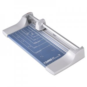 "Dahle DAH507 Rolling/Rotary Paper Trimmer/Cutter, 7 Sheets, 12"" Cut Length"