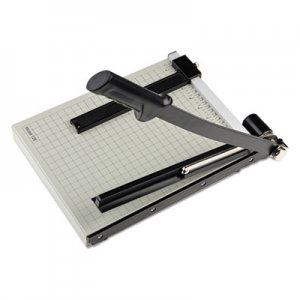 "Dahle DAH12E Vantage Guillotine Paper Trimmer/Cutter, 15 Sheets, 12"" Cut Length"