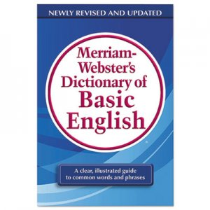 Merriam Webster MER7319 Dictionary of Basic English, Paperback, 800 Pages