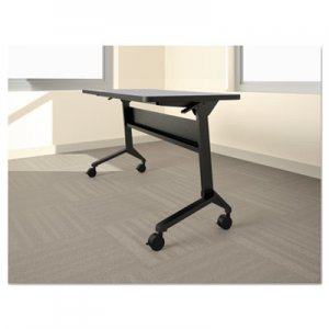 Safco Mayline MLNLF72S5 Flip-n-Go Table Base, 70 1/2w x 21 1/4d x 27 7/8h, Black
