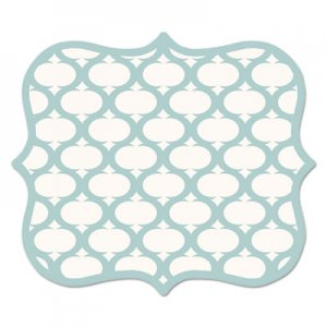 Fellowes FEL5919001 Designer Mouse Pads, Lattice, 9 x 8 x 3/16