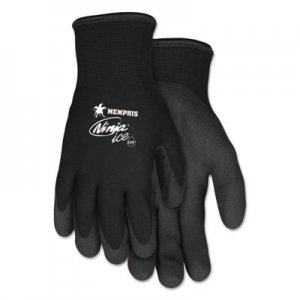 MCR Safety CRWN9690XL Ninja Ice Gloves, Black, X-Large