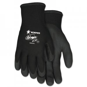 MCR Safety CRWN9690L Ninja Ice Gloves, Black, Large