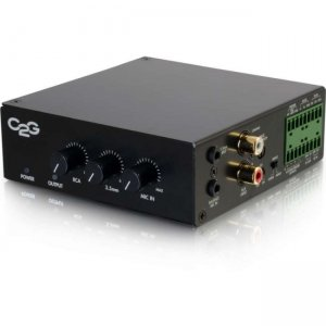 C2G 40880 8 Ohm 50W Audio Amplifier - Plenum Rated