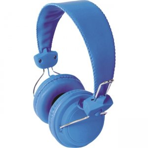 Hamilton Buhl FV-BLU Headset with In Line Microphone Blue