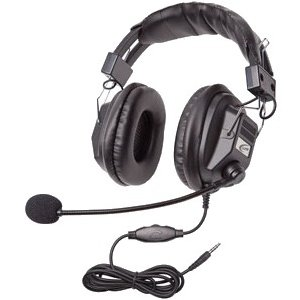 Califone 3068MT Switchable Stereo/Mono Headset with To Go Plug