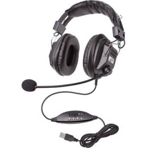 Califone 3068MUSB Switchable Stereo/Mono Headset with USB Plug