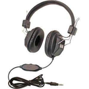 Califone 1534BK-10L 10 Pack Kids Headphone
