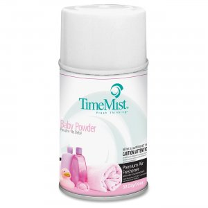 TimeMist 1042686CT Metered Dispnsr Baby Powder Scent Refill TMS1042686CT
